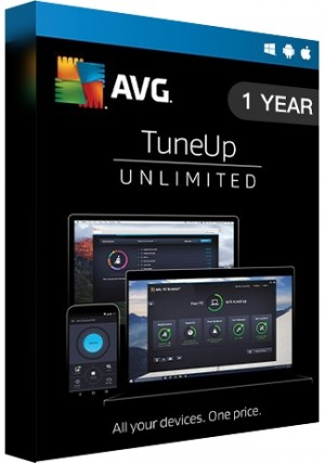 AVG Tuneup Unlimited - 1 Year