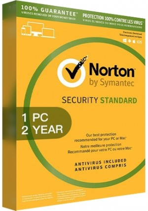 Norton Security Standard 3 - 1 Device/2 Years