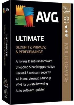 AVG Ultimate 2020 10 Devices / 2 Years