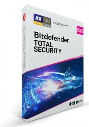 Bitdefender Total Security Multi Device / 5 Devices (6 Months)