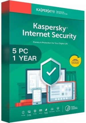 Kaspersky Internet Security Multi Device 2020 / 5 Devices (1 Year)