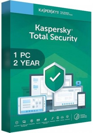 Kaspersky Total Security Multi Device 2020 / 1 Device  (2 Years)