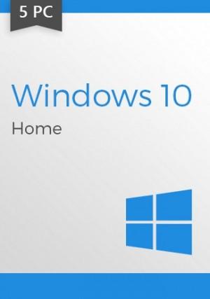 Windows 10 Home CD-KEY (32/64 Bit) (5 PC)