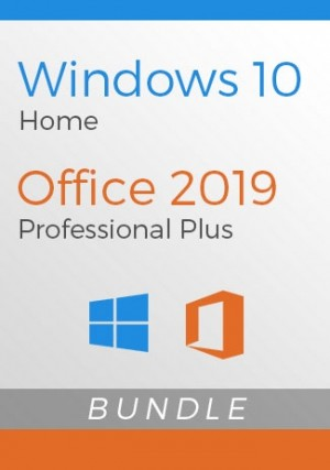 Windows 10 Home + Office 2019 Pro - Package