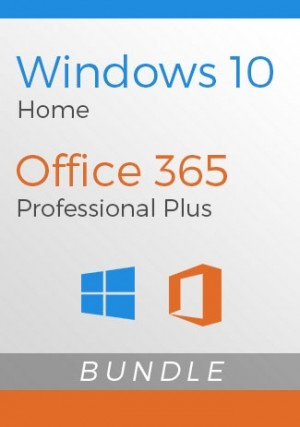 Windows 10 Home + Office 365 Account - Package