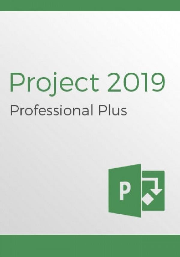 Microsoft Project Professional 2019 (1PC)