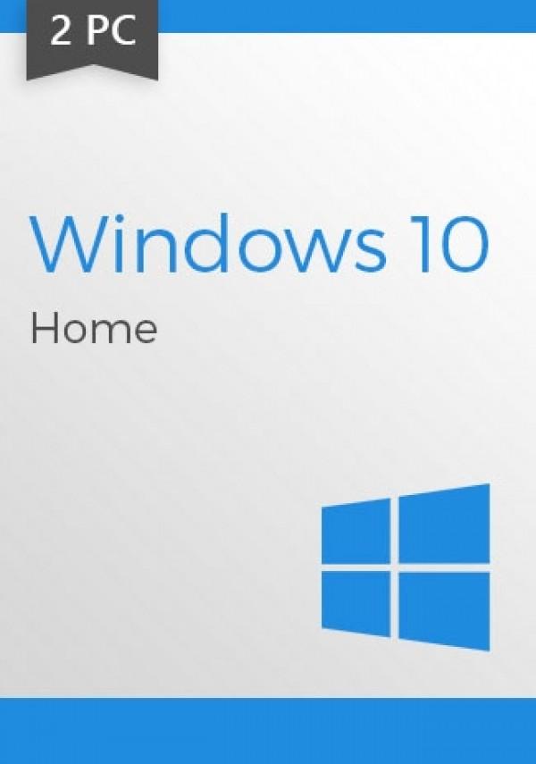 Windows 10 Home CD-KEY (32/64 Bit) (2 PC)