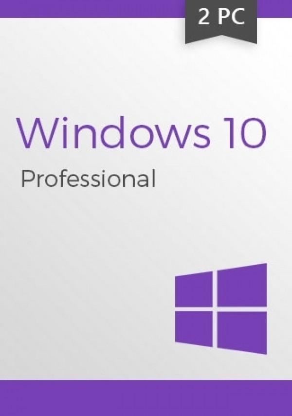 Win 10 Pro CD-KEY (32/64 Bit) (2 PC)