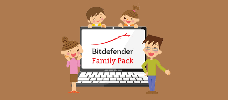 Bitdefender Family Pack 15 Devices 1 Year