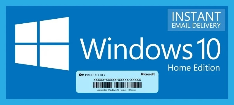 windows 10 home key